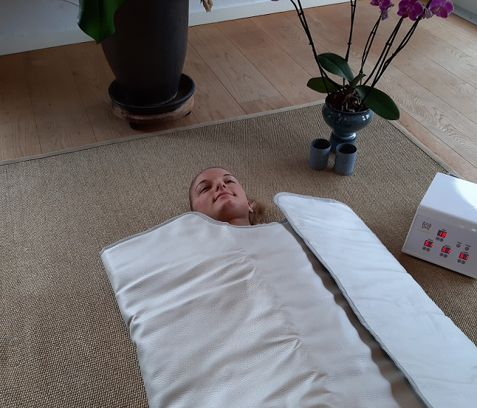 Luksus Infrarød varmebehandling inkl. ansigts- og hovedbundsmassage